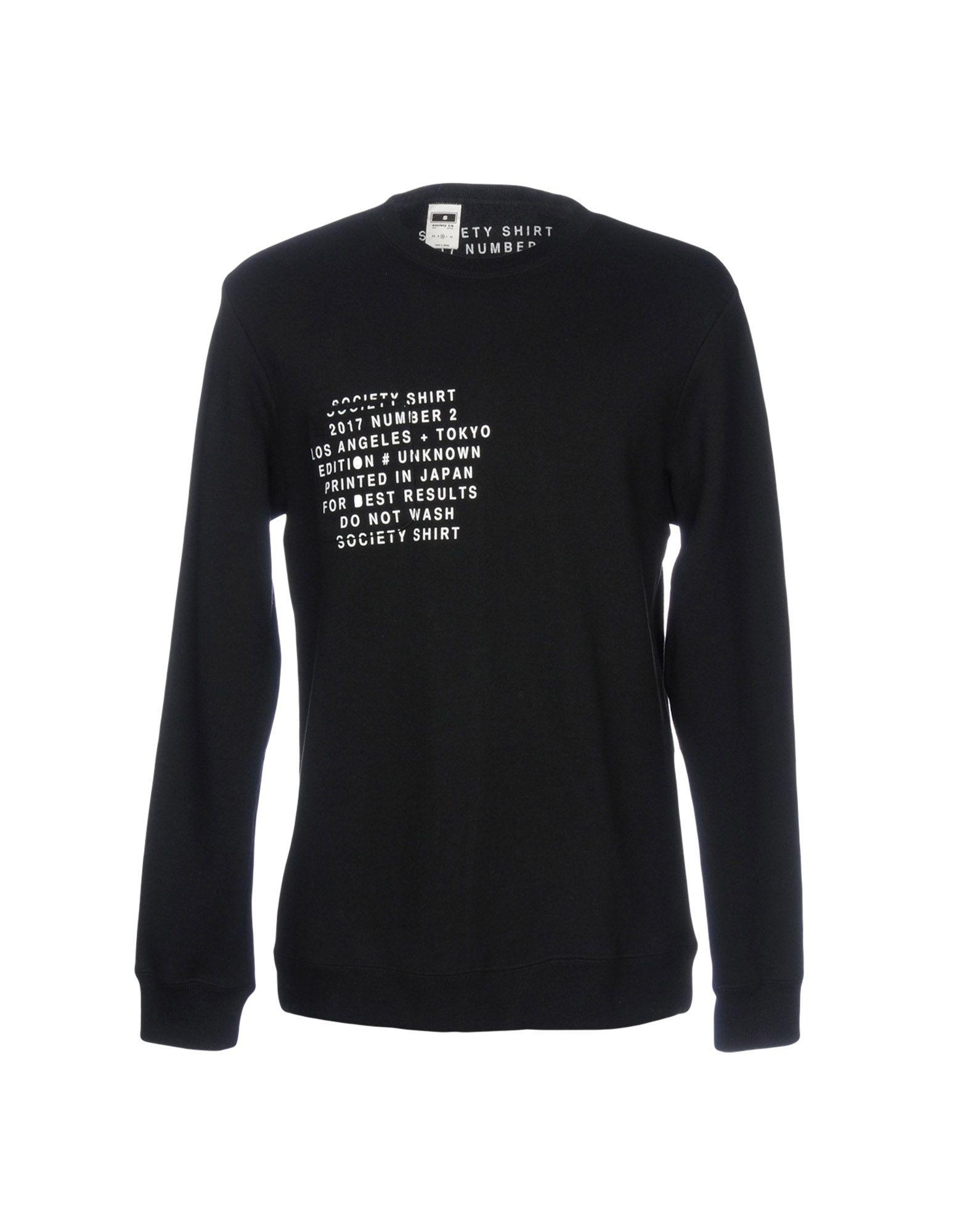 SOCIETY Sweatshirt in Black