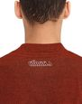 LANVIN Polos & T-Shirts Man RED FLECKED JERSEY T-SHIRT f