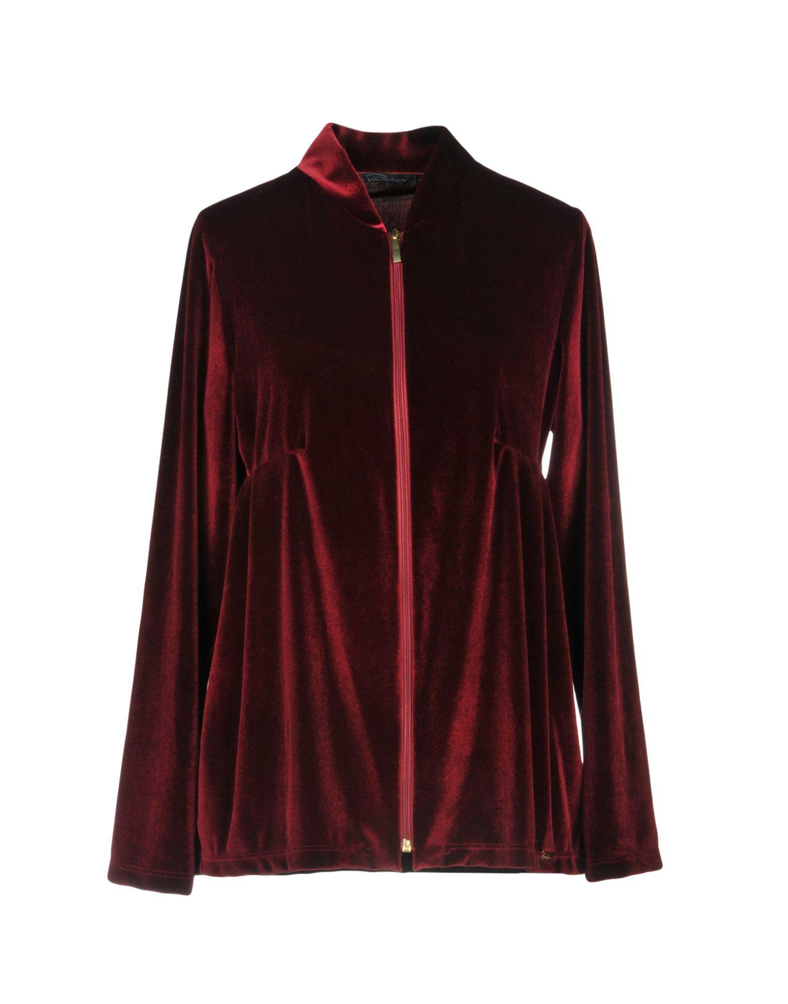 PIERRE MANTOUX Sweatshirt in Maroon
