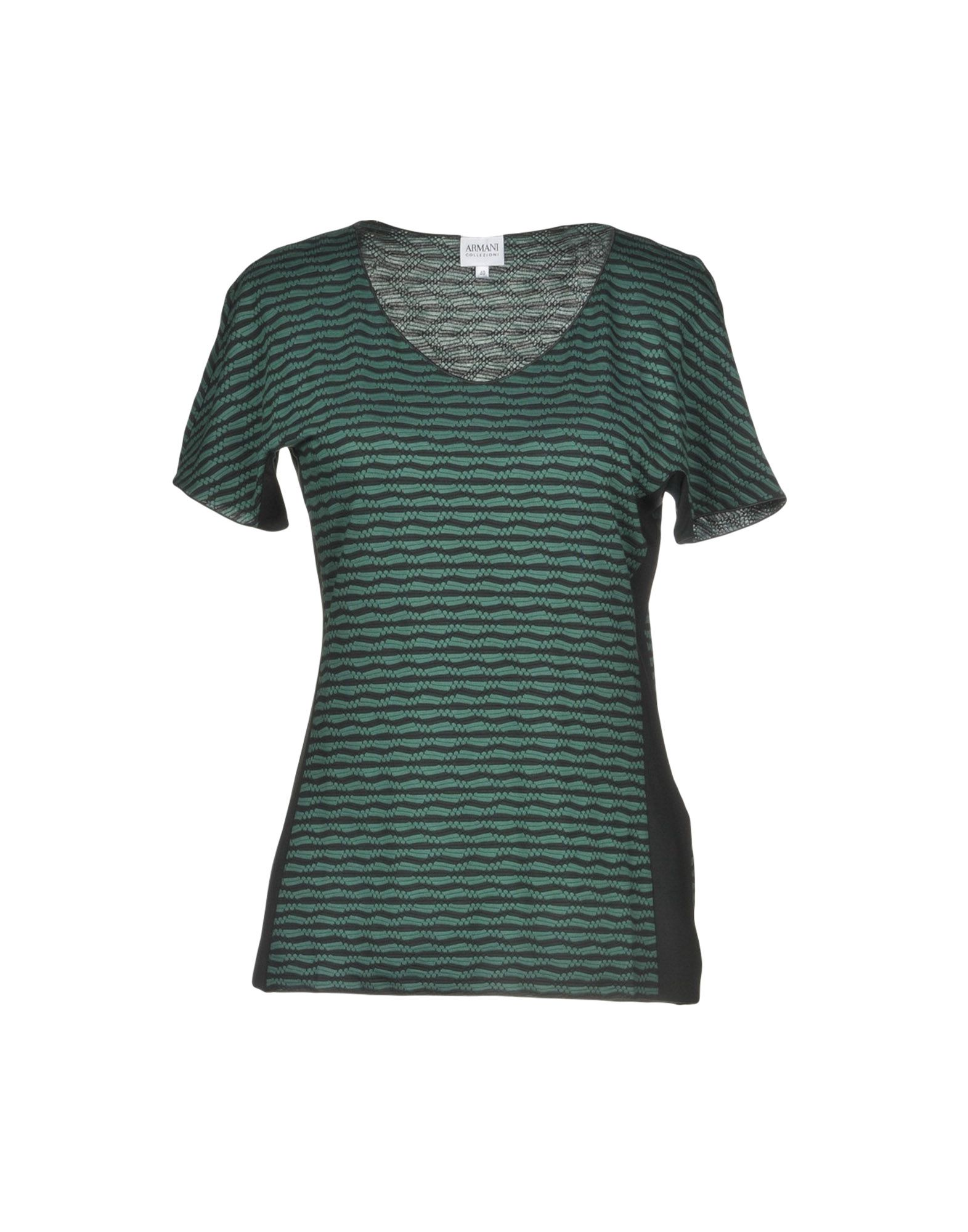 ARMANI COLLEZIONI Футболка пуловер armani collezioni джемперы свитера и пуловеры короткие