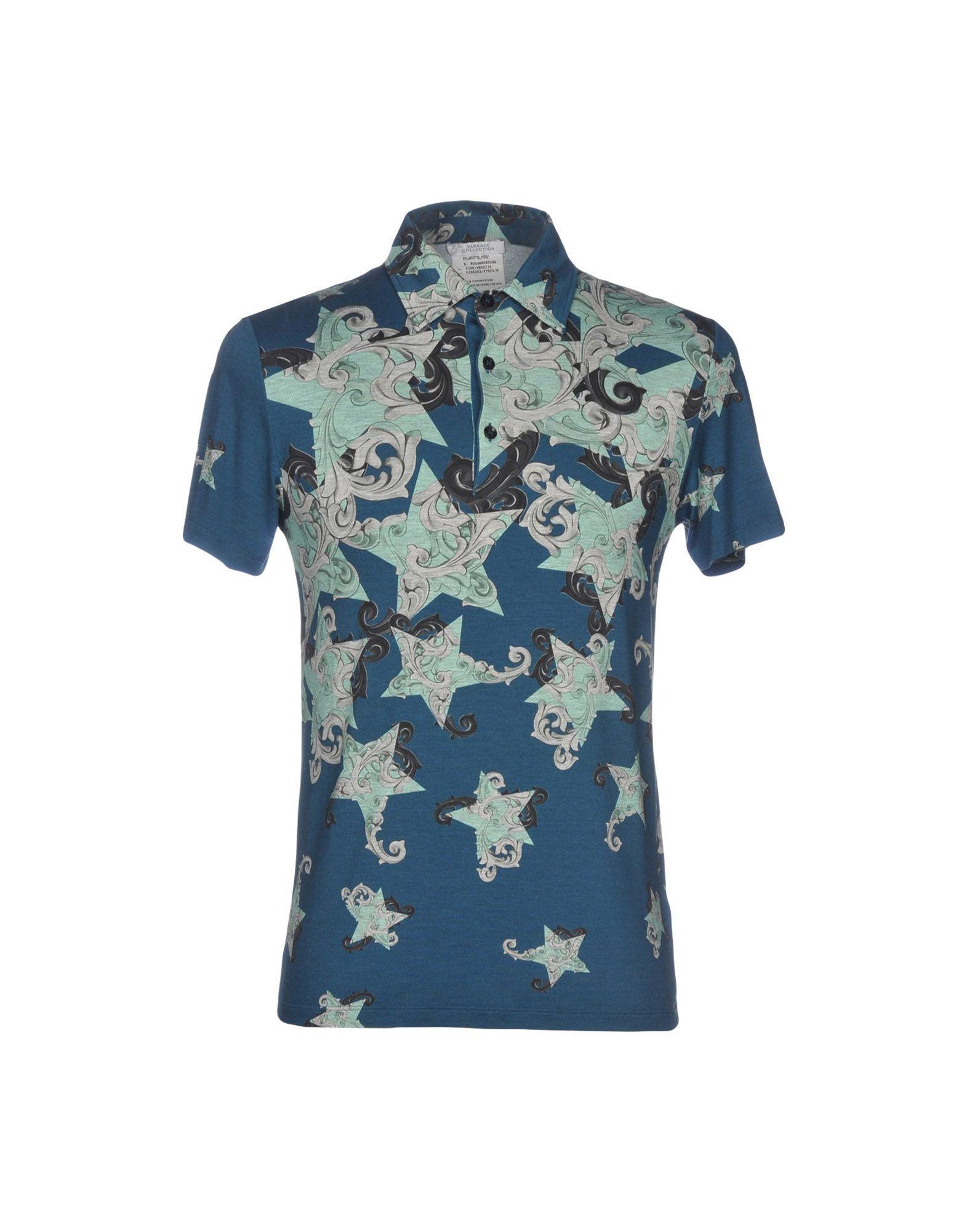 VERSACE COLLECTION Поло футболка versace разноцветный