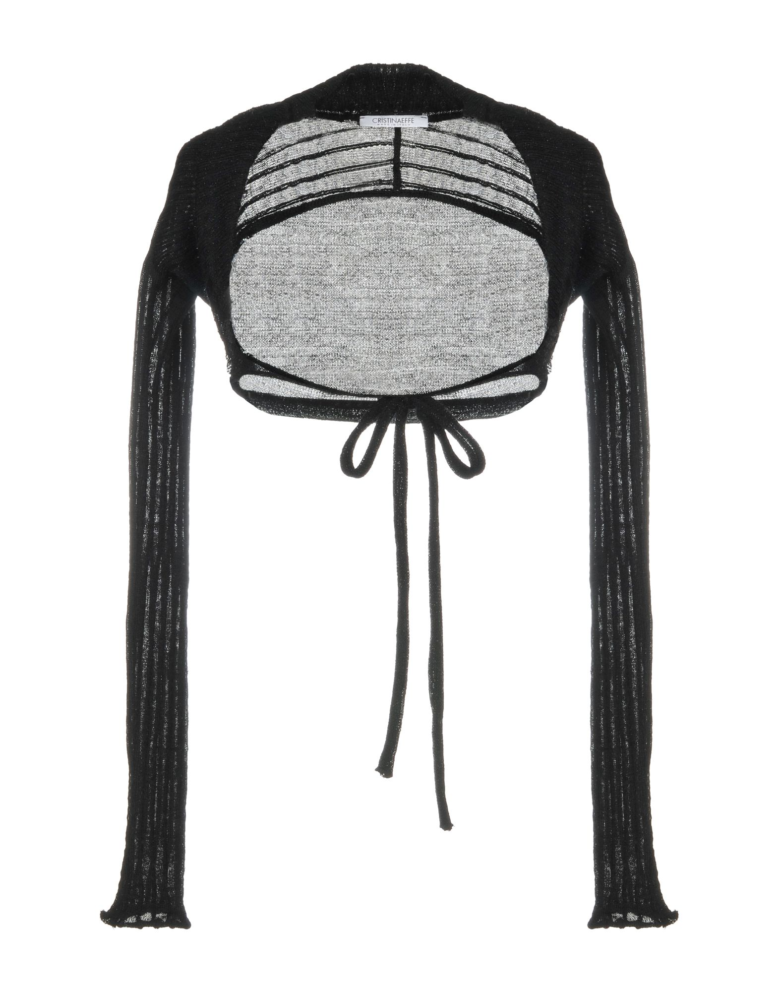 CRISTINAEFFE Damen Bolero Farbe Schwarz Größe 3
