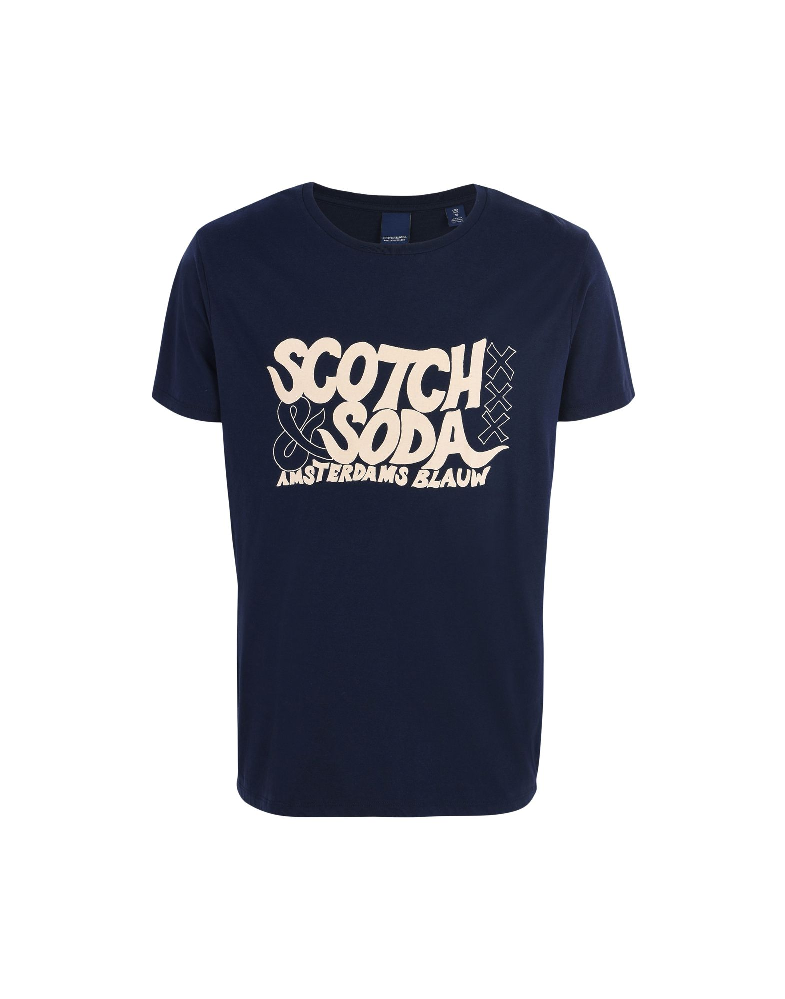SCOTCH & SODA Футболка cream soda