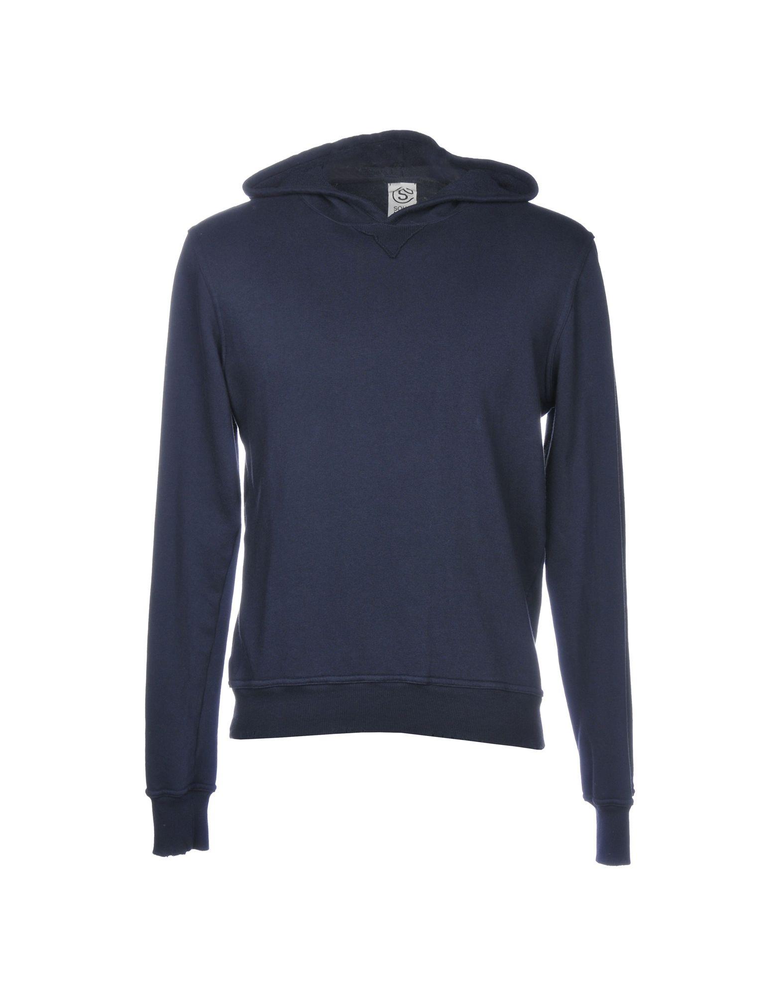 SOHO Hooded Sweatshirt in Dark Blue