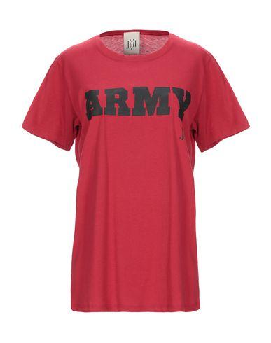 Купить Женскую футболку JIJIL красного цвета