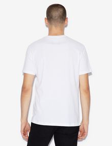 ARMANI EXCHANGE ICON T-SHIRT GOLD SIGNATURE WITH LOGO 1991 Logo T-shirt [*** pickupInStoreShippingNotGuaranteed_info ***] e