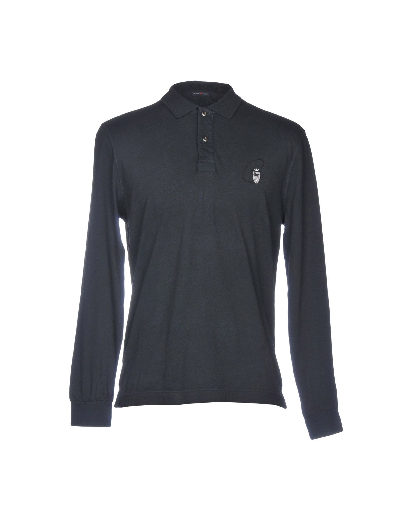 《送料無料》PAL ZILERI CONCEPT メンズ ポロシャツ ダークブルー 46 コットン 100%