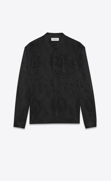 SAINT LAURENT Tunic Uomo Camicia tunica jacquard barocco a_V4
