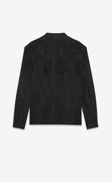 SAINT LAURENT Tunic Uomo Camicia tunica jacquard barocco b_V4