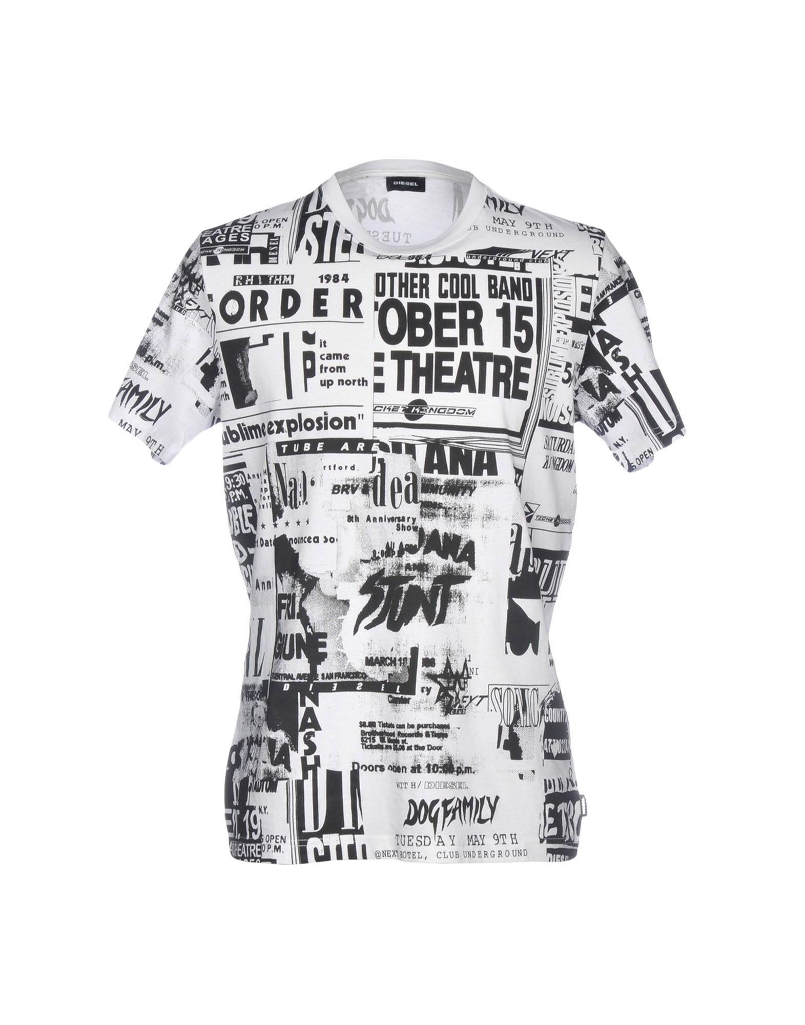 DIESEL Футболка футболка мужская diesel 0421807741482 sakb2298