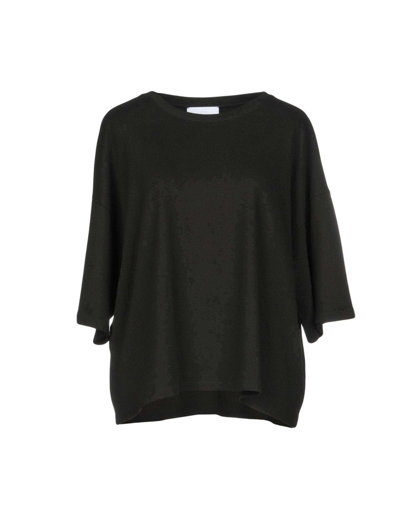 《送料無料》C.Y.H. CLAP YOUR HAND レディース T シャツ ブラック one size コットン 100%