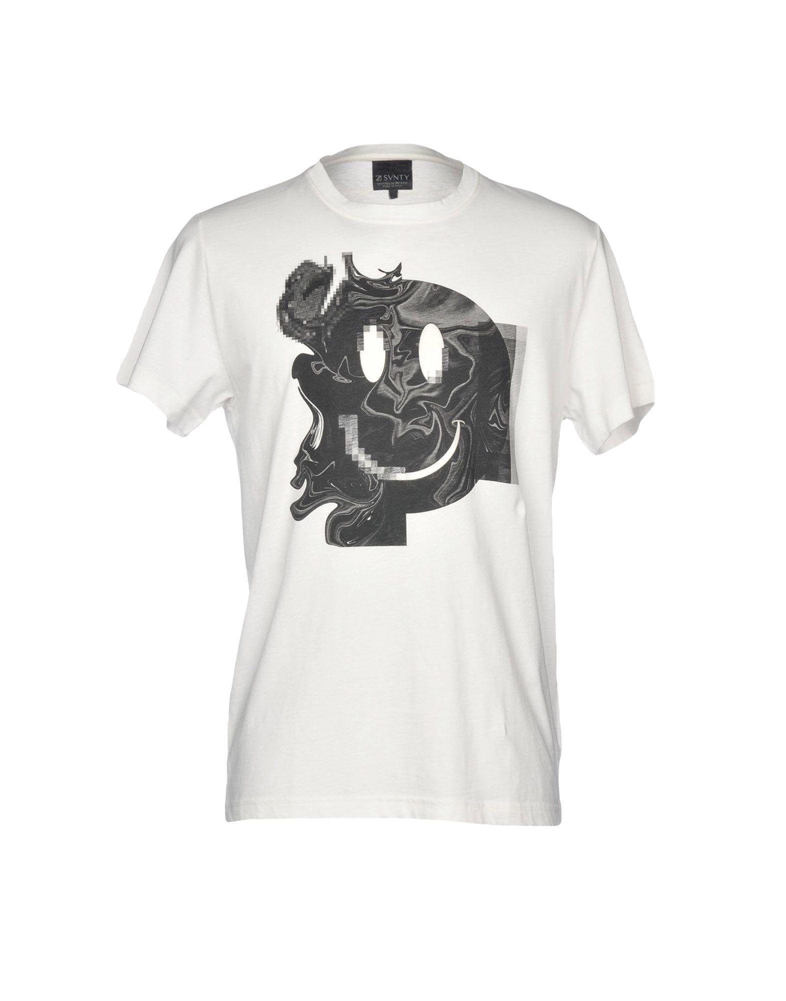SVNTY T-Shirt in Ivory
