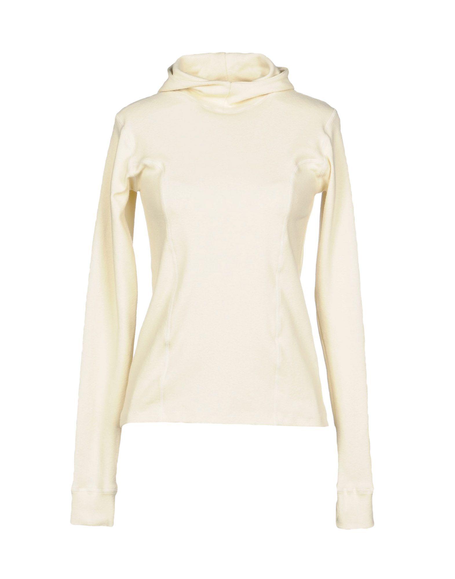 BASERANGE Hooded Sweatshirt in Beige