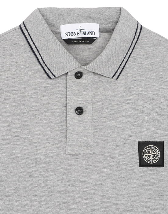 12210800wh - Polos - T-Shirts STONE ISLAND