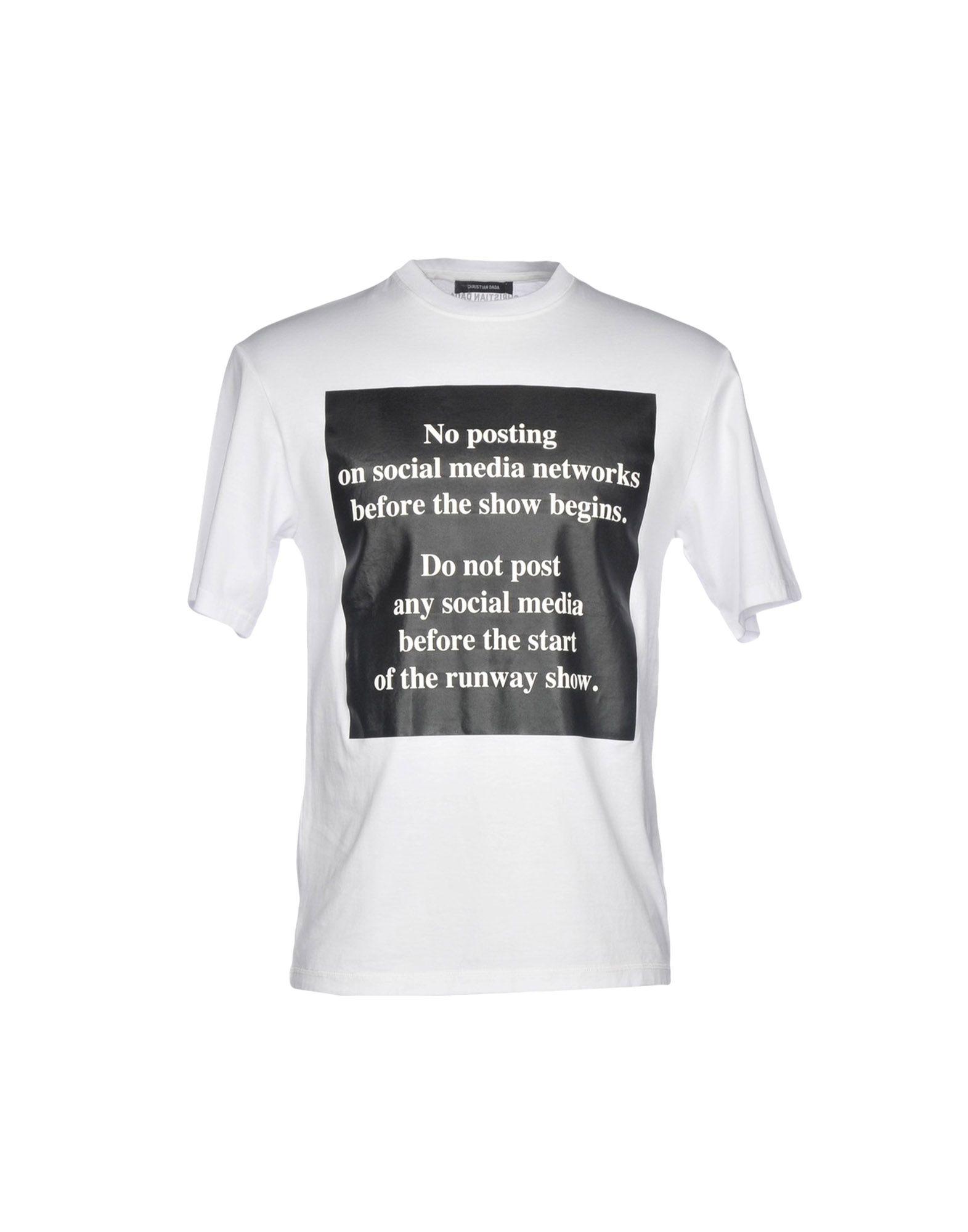 CHRISTIAN DADA Футболка футболка christian audigier экзотическая птица