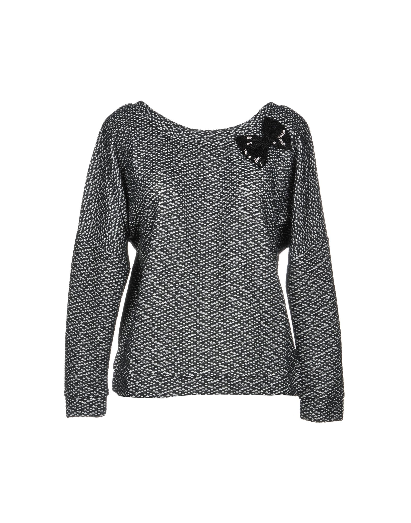 MOLLY BRACKEN Sweater in Black