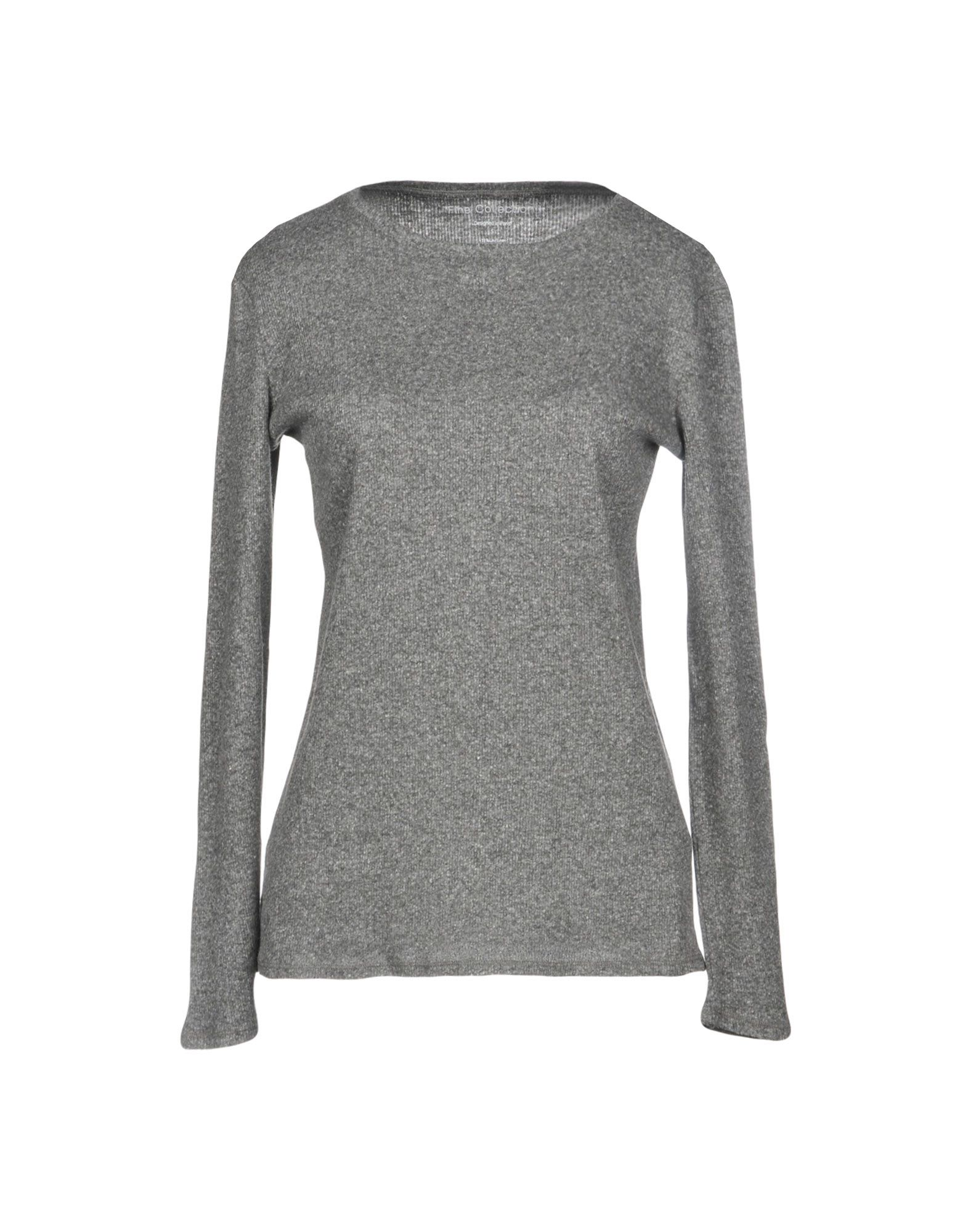FINE COLLECTION T-Shirt in Grey