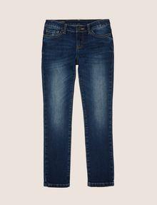 ARMANI EXCHANGE GIRLS SUPER-SKINNY WASHED INDIGO JEAN Skinny jeans Woman f