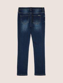 ARMANI EXCHANGE GIRLS SUPER-SKINNY WASHED INDIGO JEAN Skinny jeans Woman r