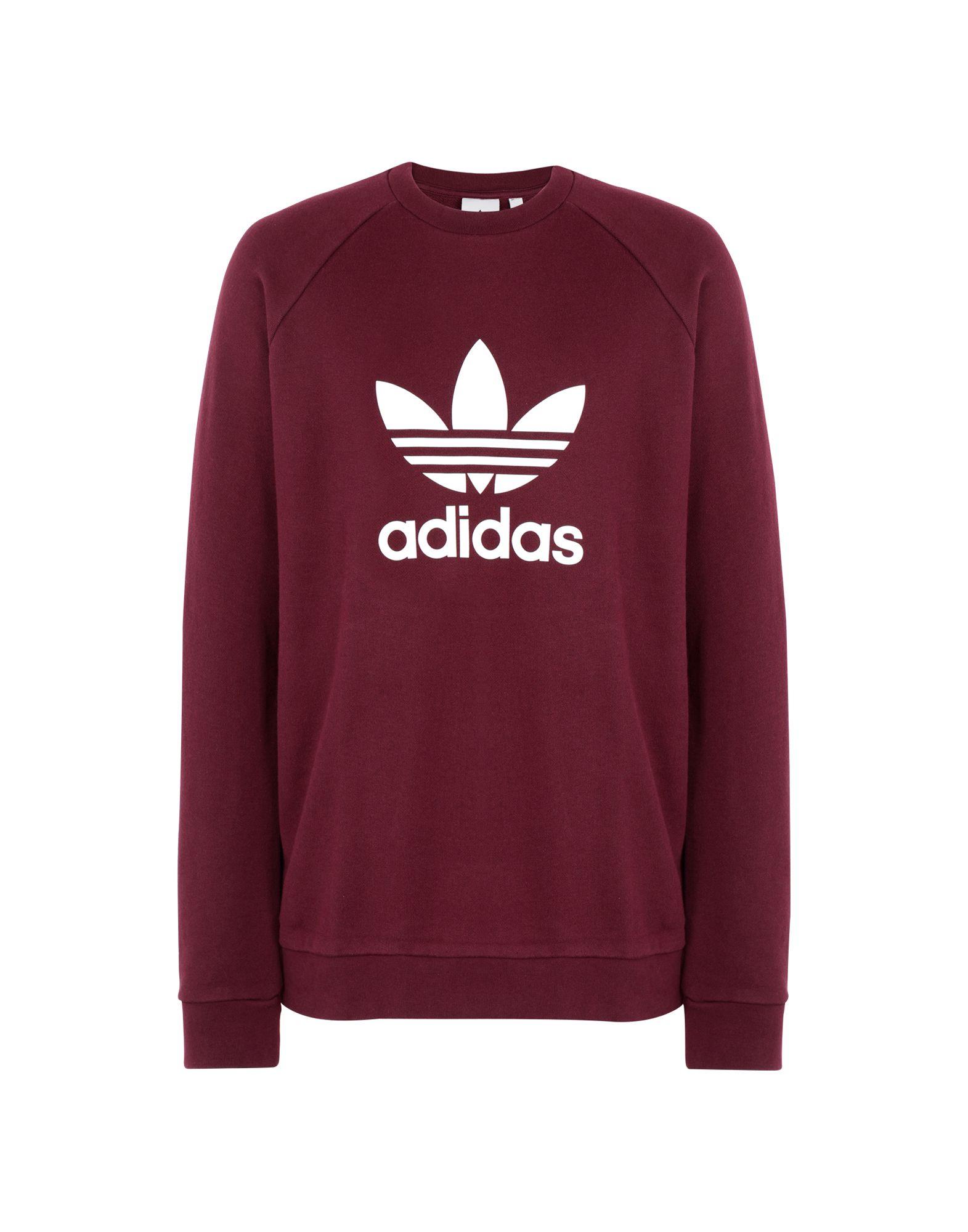 ADIDAS ORIGINALS Herren Sweatshirt7 bordeaux,rot