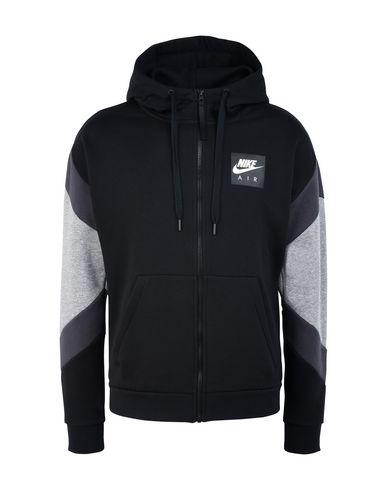 Nike Sportswear AIR CREW - Sudadera - gym red/white/black 8lvpu8