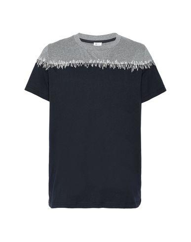 Фото - Женскую футболку 8 by YOOX темно-синего цвета