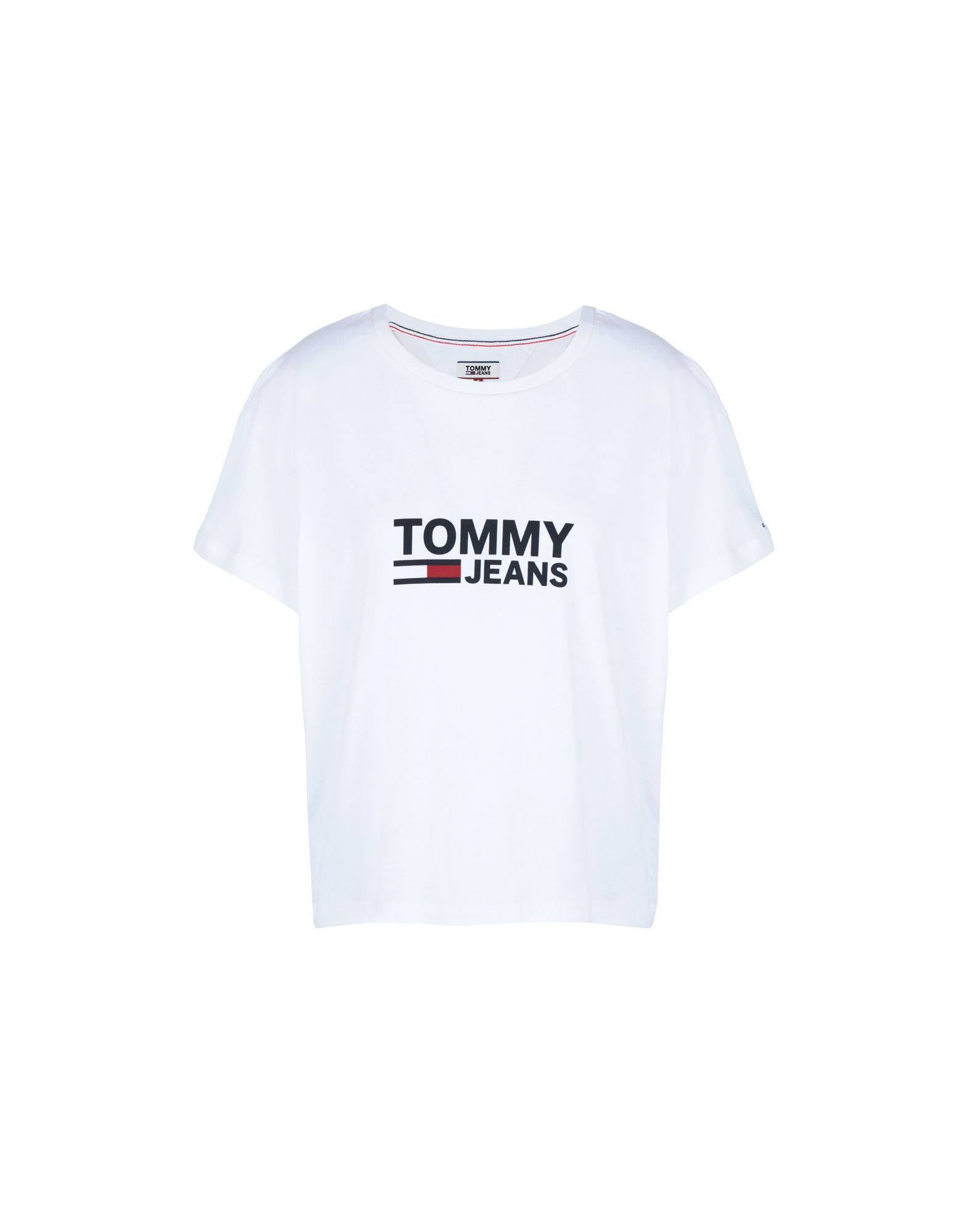 TOMMY JEANS Футболка футболка tommy jeans dw0dw03984 038 lt grey htr