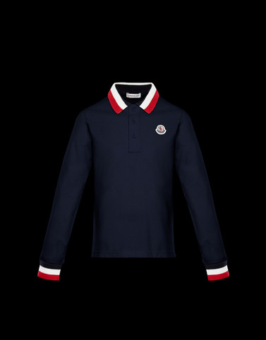 POLO SHIRT Dark blue For Kids