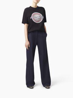 """T-shirt en coton à imprimé """"Target"""""""