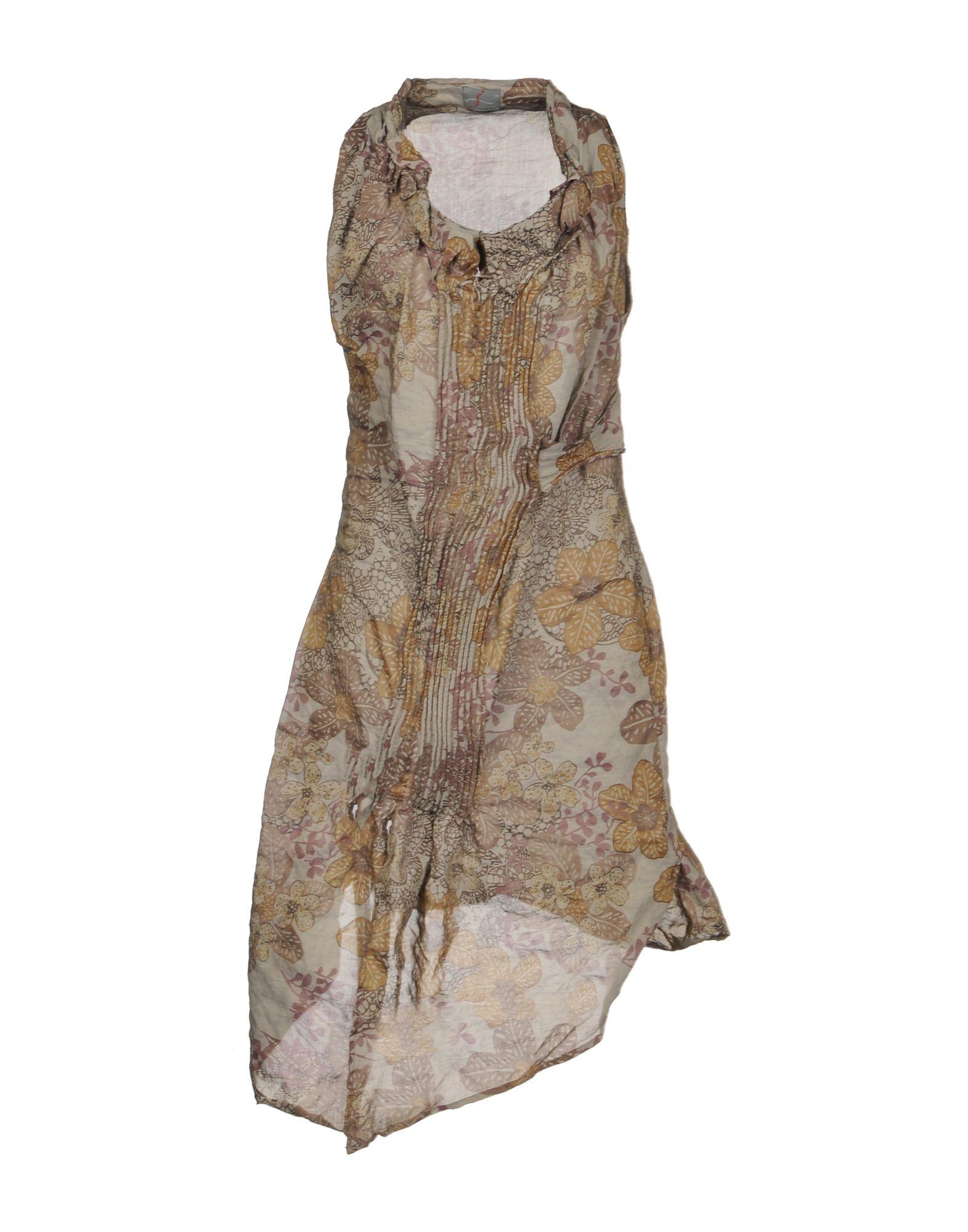 I MALLONI Короткое платье платье без рукавов printio семейная лодка