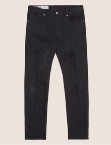 ARMANI EXCHANGE SLIM-FIT OVERSTITCHED JEAN Slim fit JEANS Man r