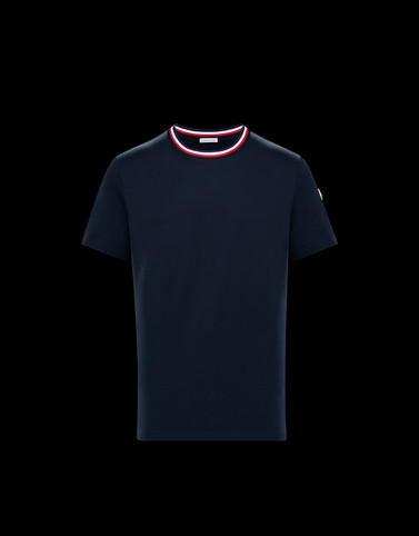 T-SHIRT Dark blue Category T-shirts Man
