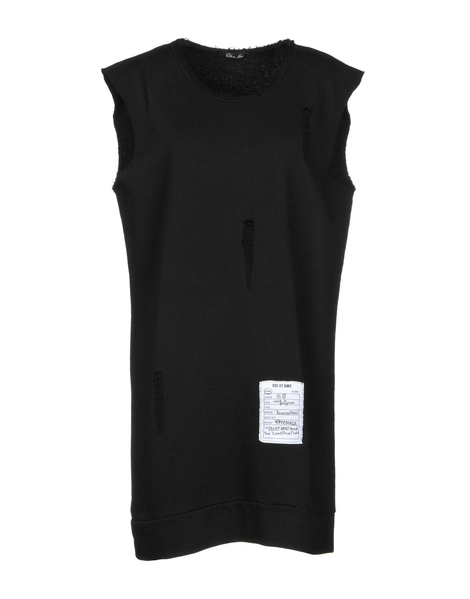 《期間限定セール中》ODI ET AMO レディース スウェットシャツ ブラック S コットン 100%