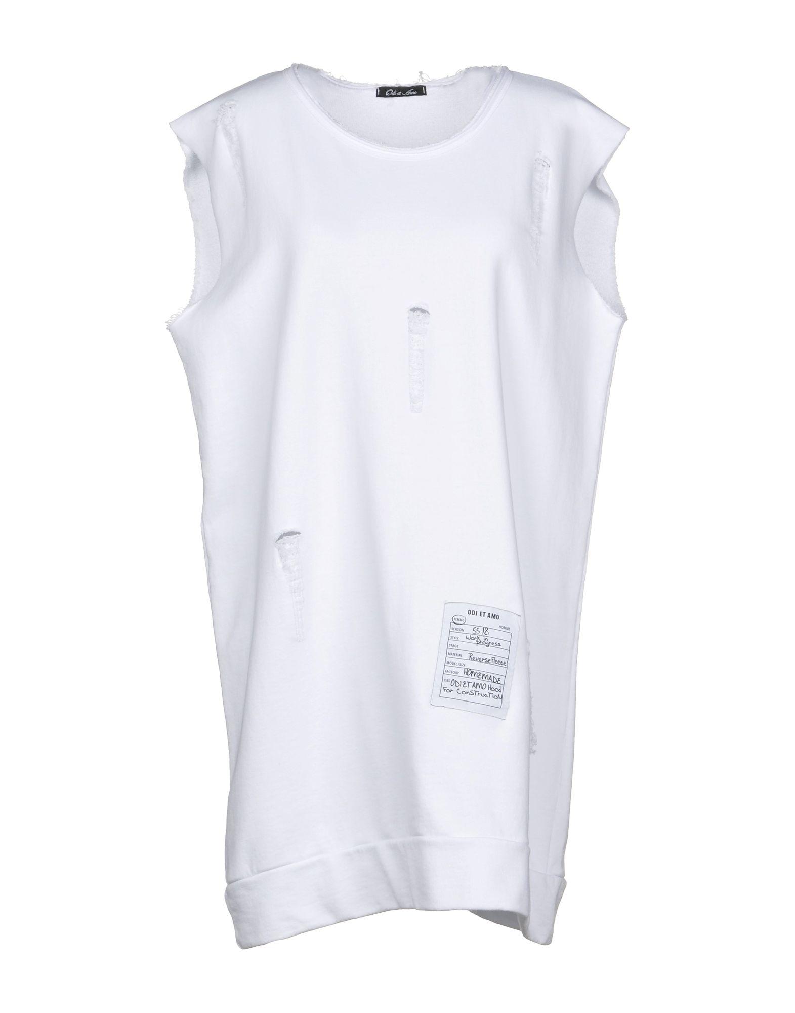 《期間限定セール中》ODI ET AMO レディース スウェットシャツ ホワイト XS コットン 100%
