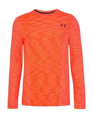 Фото - Женскую футболку UNDER ARMOUR оранжевого цвета