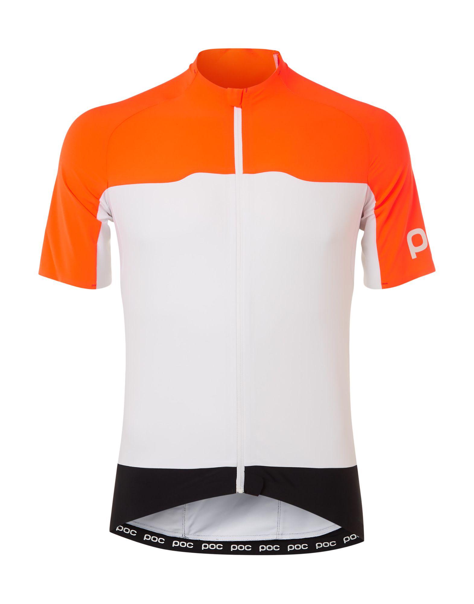 《送料無料》POC メンズ T シャツ オレンジ M ポリエステル 78% / ポリウレタン 22%