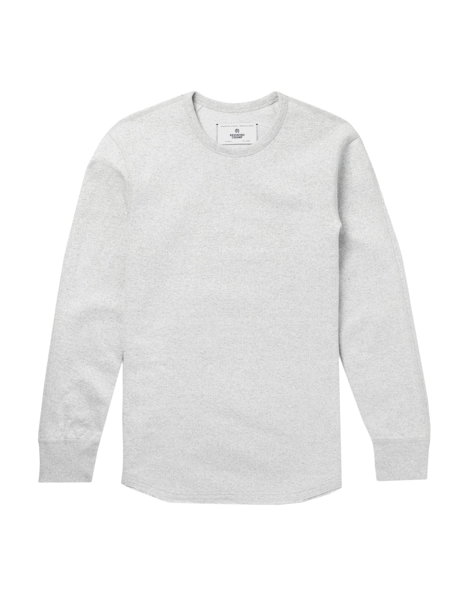 REIGNING CHAMP Толстовка reigning champ gym logo ss tee snow