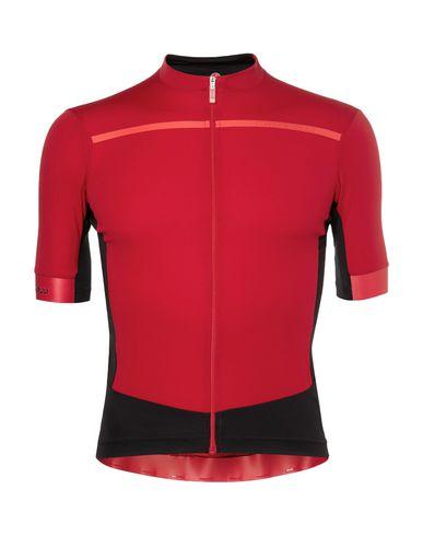 Фото - Женскую футболку CASTELLI красно-коричневого цвета