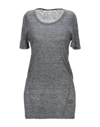 Купить Женскую футболку ISABEL MARANT ÉTOILE свинцово-серого цвета