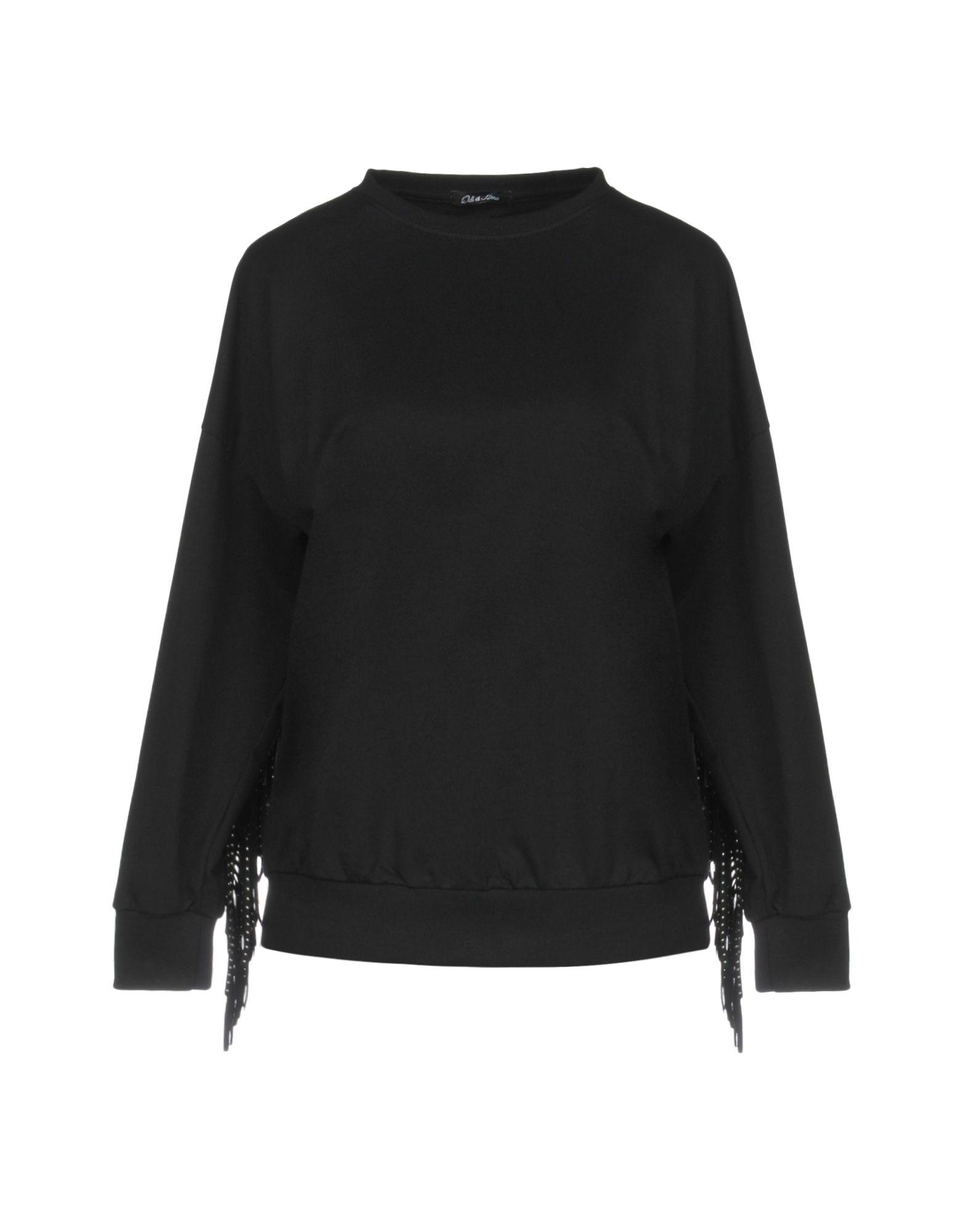 《期間限定セール中》ODI ET AMO レディース スウェットシャツ ブラック XS 100% コットン