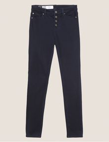 ARMANI EXCHANGE J27 SUPER-SKINNY BLACKENED INDIGO BUTTON-FLY JEAN Skinny jeans [*** pickupInStoreShipping_info ***] r