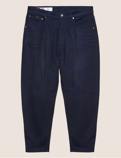 BAGGY-FIT DARK INDIGO JEAN