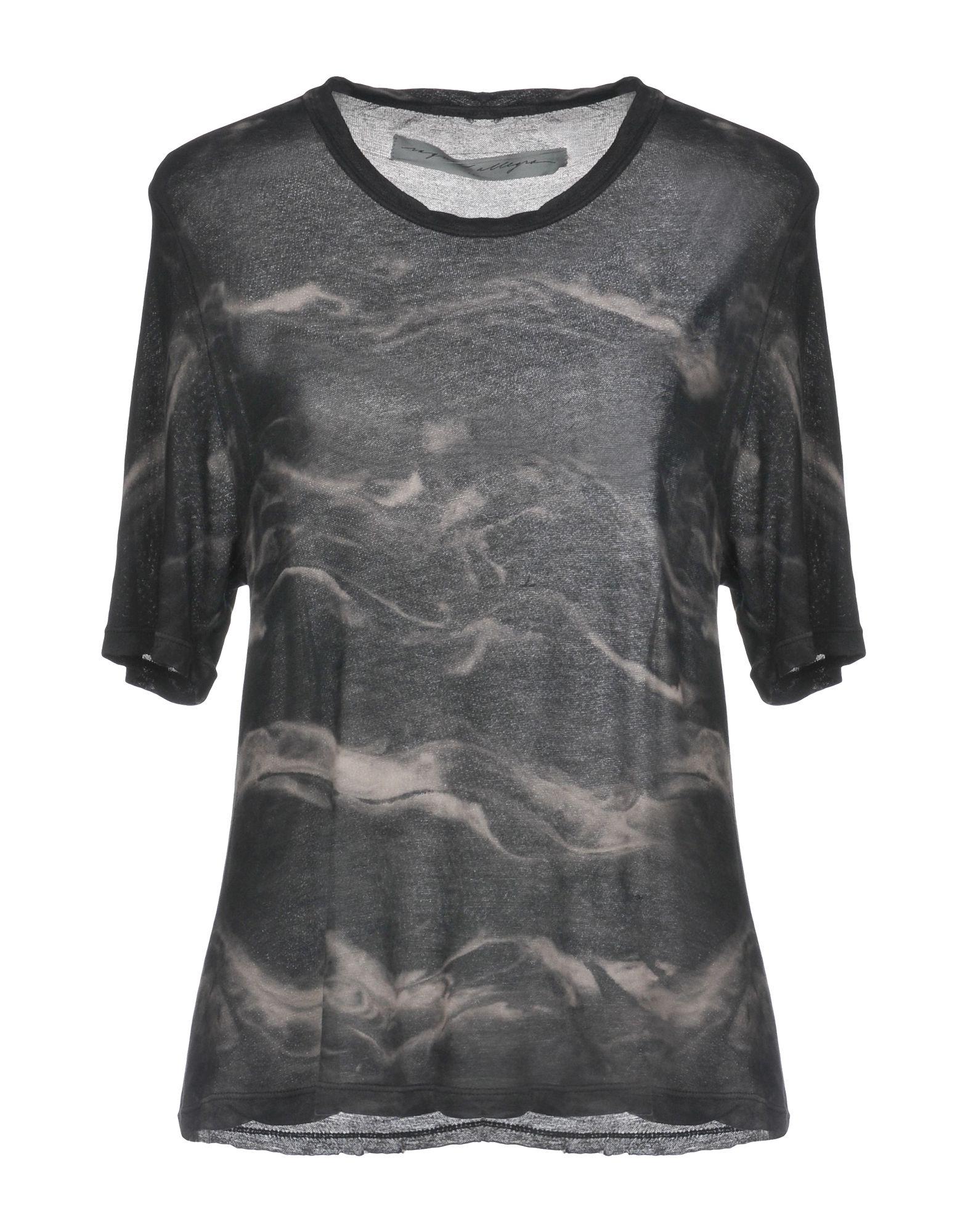 RAQUEL ALLEGRA Футболка allegra k ladies cat pattern button closure upper unlined shirt dresses w belt