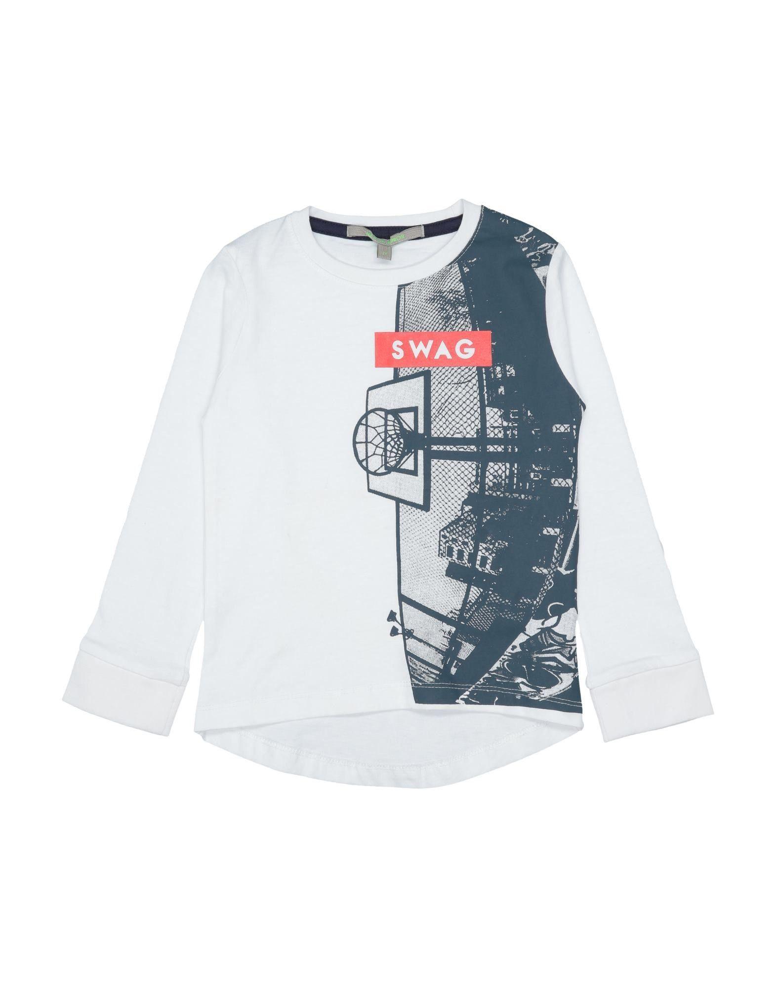 Heach Junior By Silvian Heach Kids' T-shirts In White