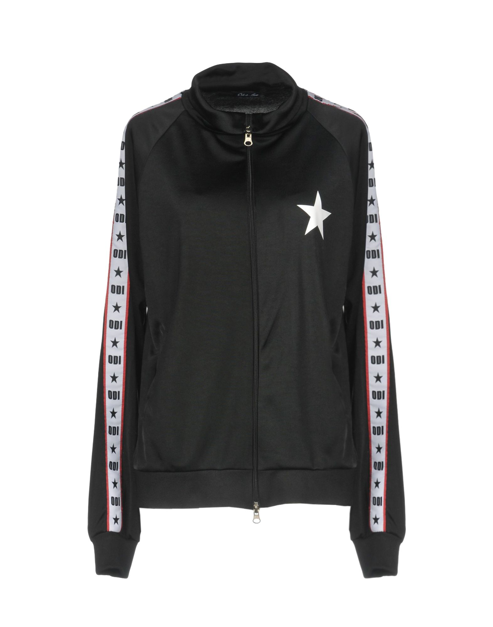 《期間限定 セール開催中》ODI ET AMO レディース スウェットシャツ ブラック XS 100% ポリエステル