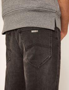 ARMANI EXCHANGE TAPERED FIT BLACK WASH JEAN Ergonomic Tapered Jeans Man b