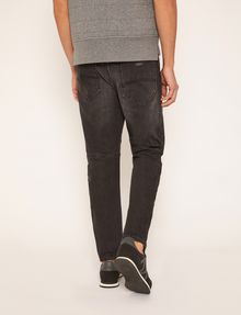 ARMANI EXCHANGE TAPERED FIT BLACK WASH JEAN Ergonomic Tapered Jeans Man e
