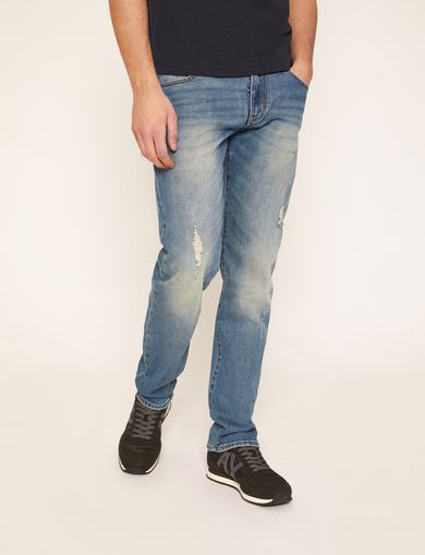 STRAIGHT-FIT REPLACED POCKET JEAN