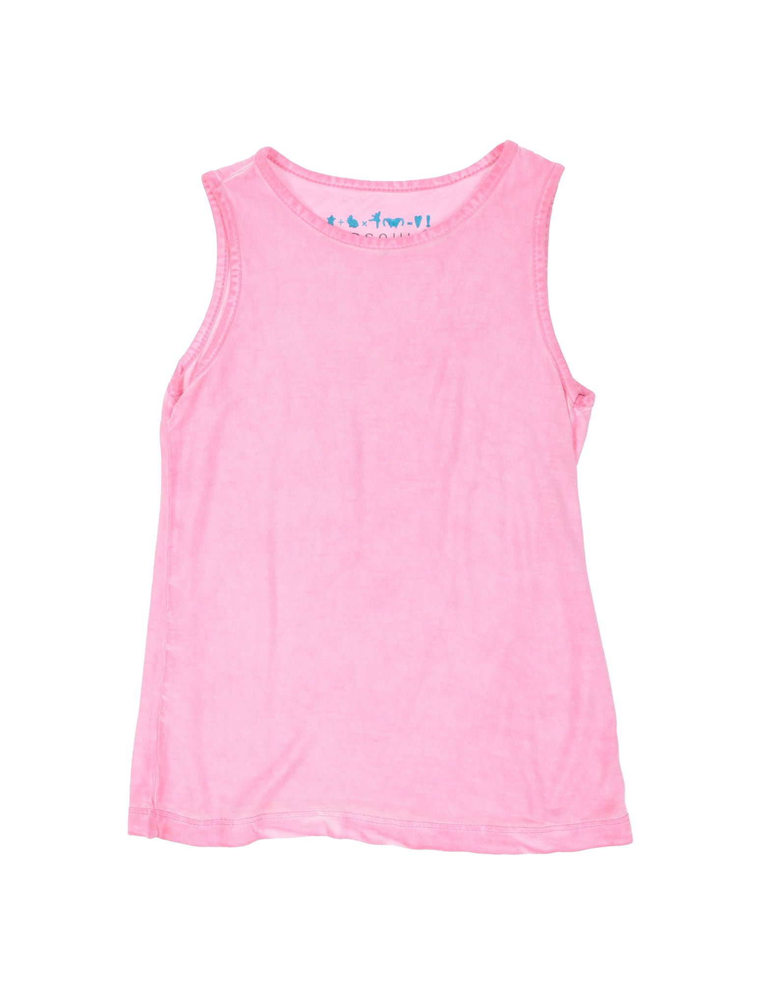 Red Soul Kids' T-shirts In Pink