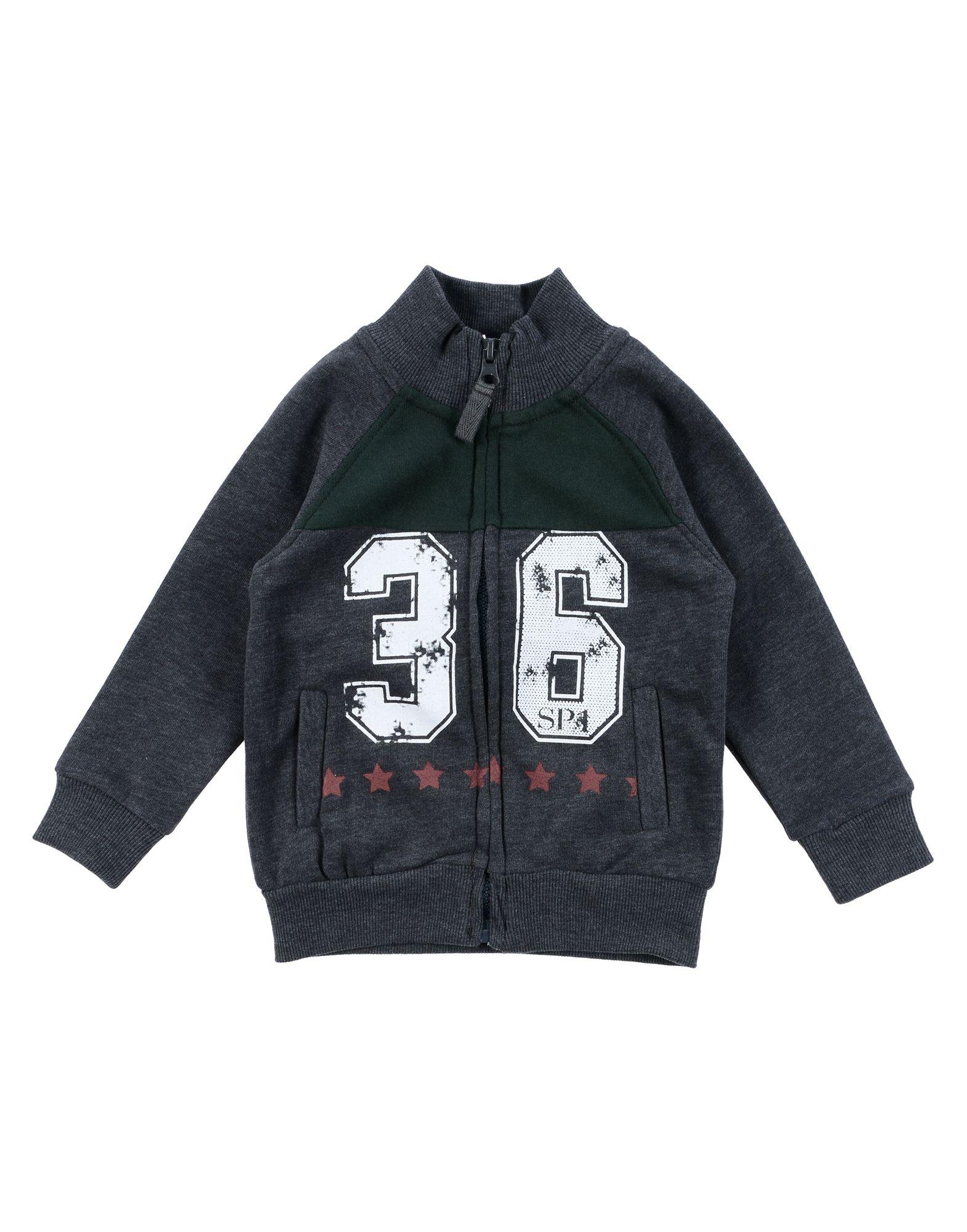 Sp1 Kids' Sweatshirts In Gray